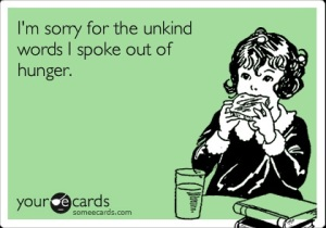 Hunger e-card