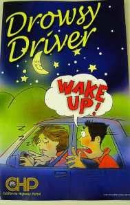 CHP Drowsy Driver