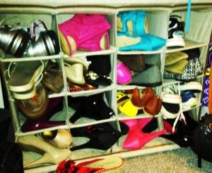 Shoe chaos indeed.