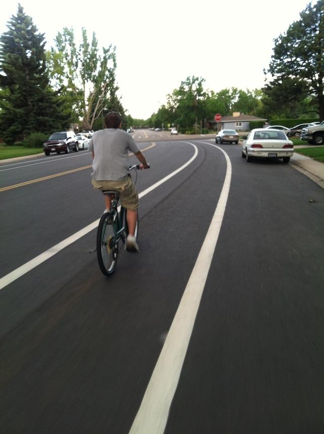 Biking Wayne