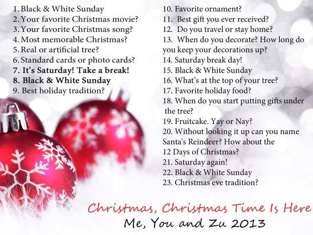 Me, You and Zu Christmas